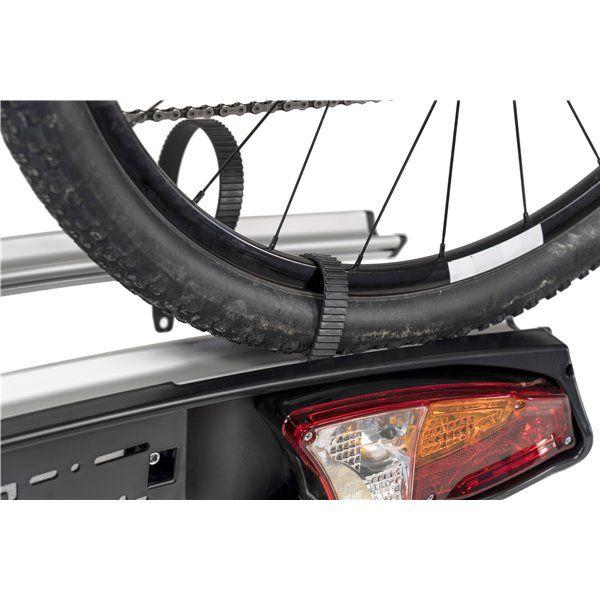 Suport biciclete Menabo Merak Eco Plus pentru 3 biciclete cu prindere pe carligul de remorcare