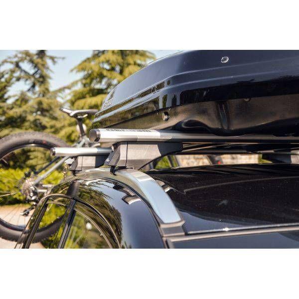 Dacia Lodgy (2012-2021) - Bare transversale Menabo Leopard Silver XL