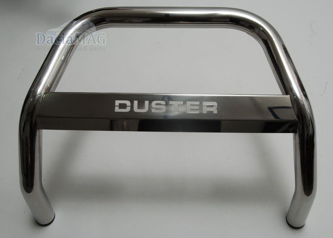 Duster (2010-2017) - Bullbar cu Logo (Dacia Original)