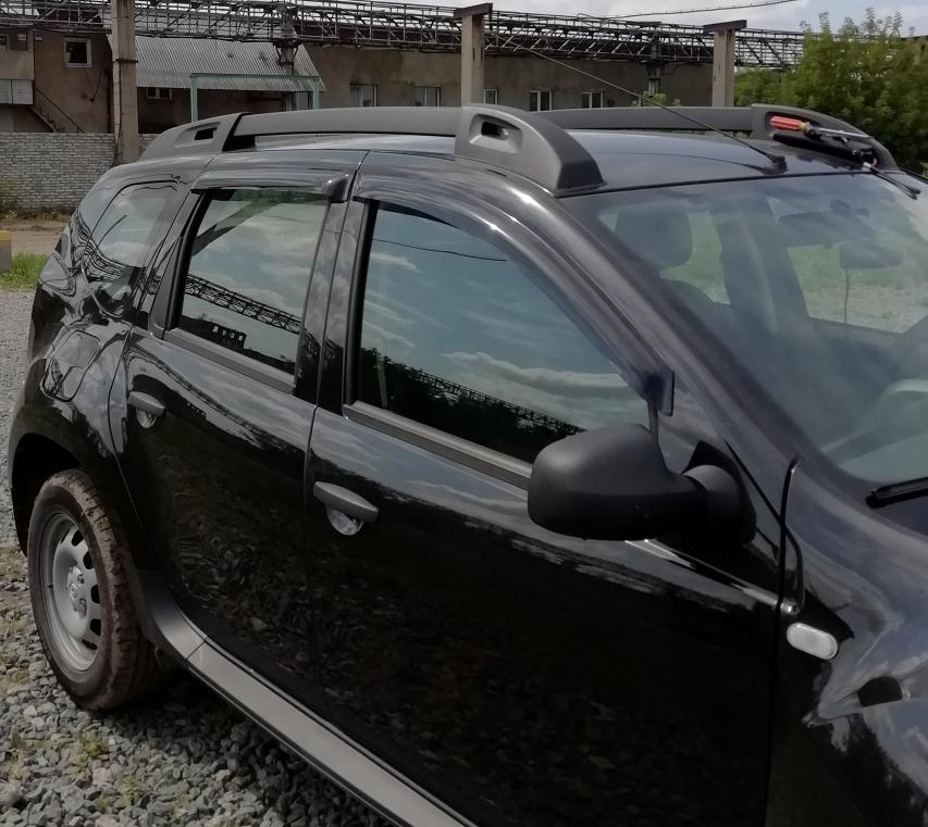 Dacia Duster (2011-) - Deflectoare de aer set fata si spate
