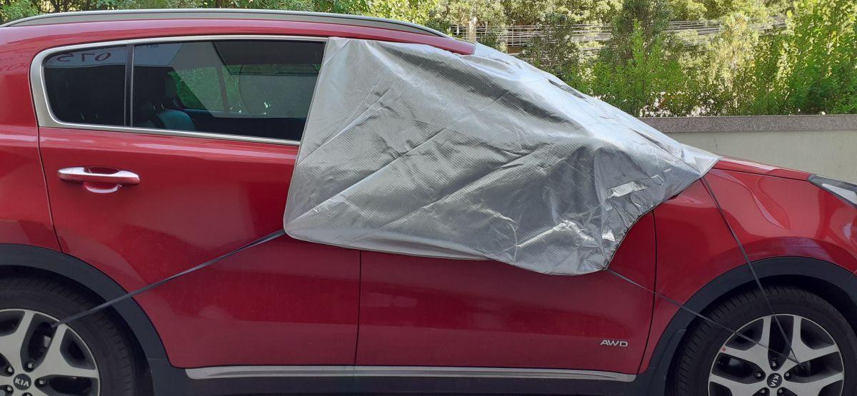 Duster/Lodgy/Dokker - Protectie parbriz parasolar si anti-inghet