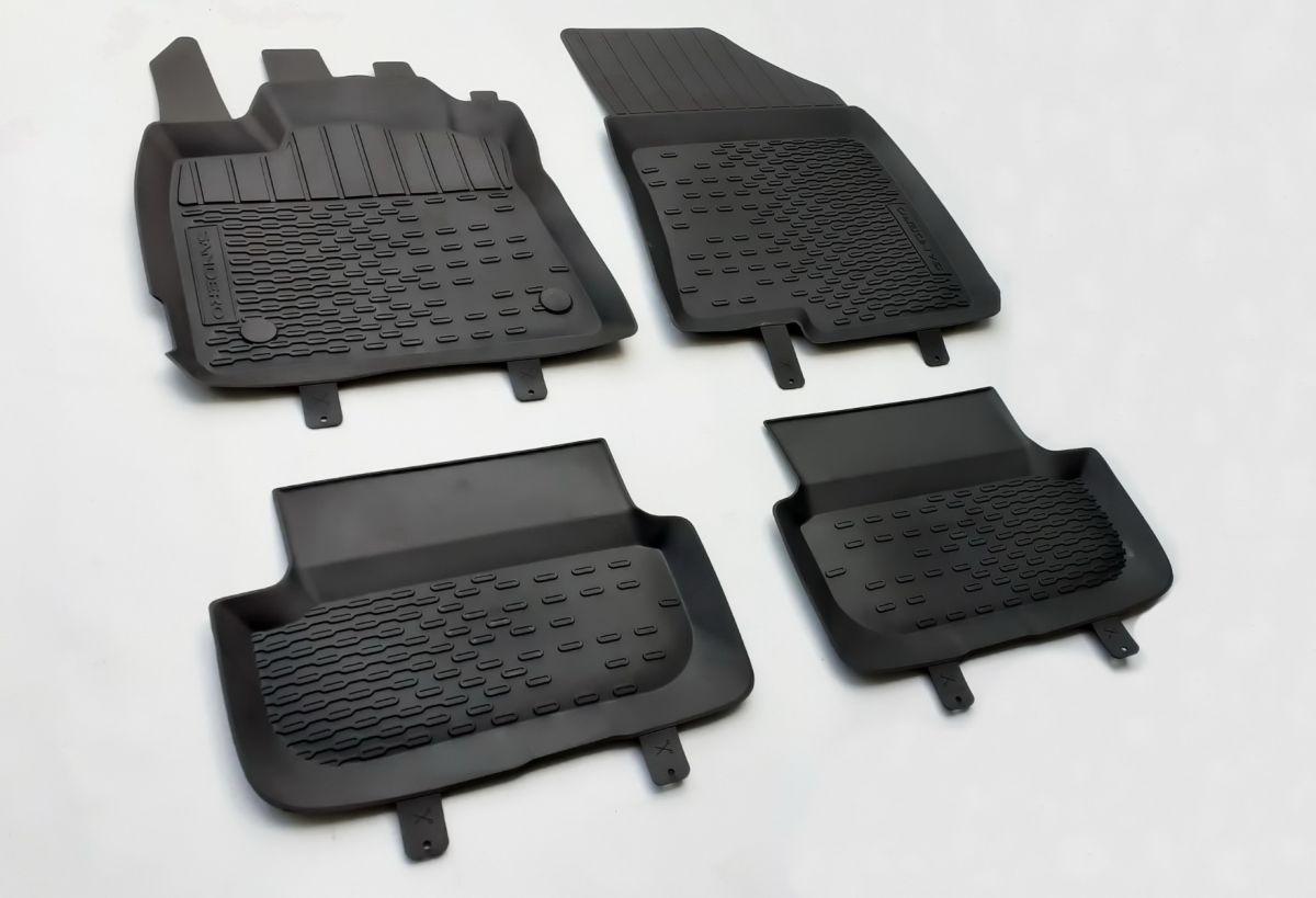 Sandero III - Set covorase de cauciuc cu margini inalte (Dacia Original)
