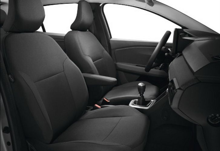 Sandero III / Stepway III - Huse scaune fata si spate pentru banchete 1/1 (Dacia Original)