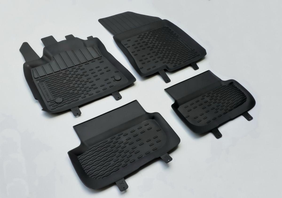 Sandero Stepway III - Set covorase de cauciuc cu margini inalte (Dacia Original)