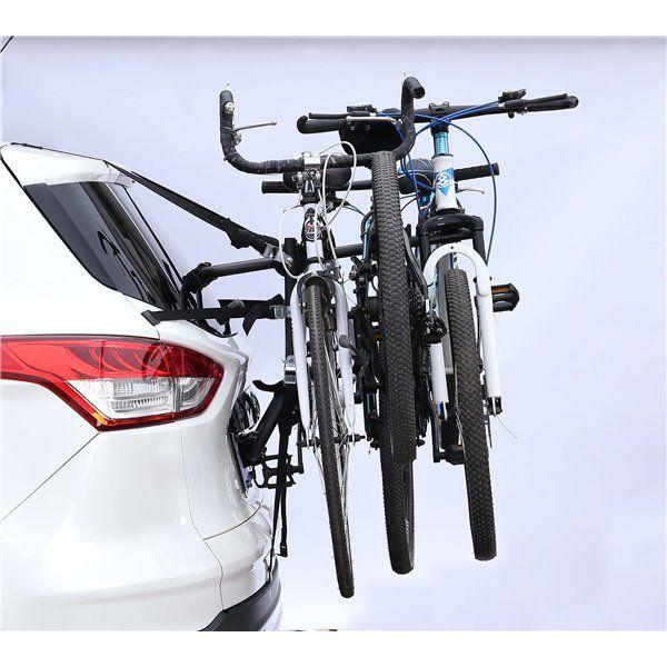 Suport biciclete K39 Travel pentru 3 biciclete cu prindere pe haion/portbagaj