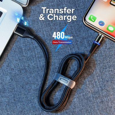 Cablu magnetic USB de incarcare rapida pentru Apple/ iPhone/ iPad