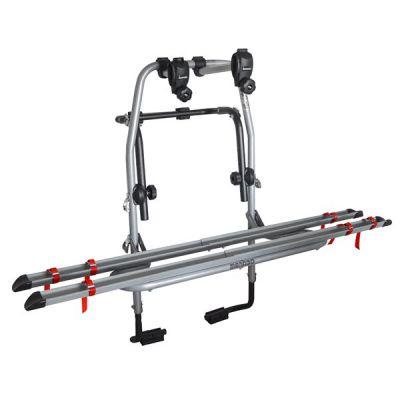 Suport biciclete Menabo Steel Bike 2 pentru 2 biciclete cu prindere pe haion/portbagaj
