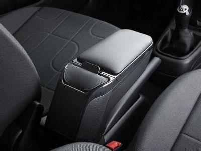 Renault Clio IV - Cotiera Neagra Premium cu buzunar portabil