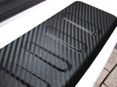 Sandero II (2012-prezent) - Ornament protectie portbagaj Carbon