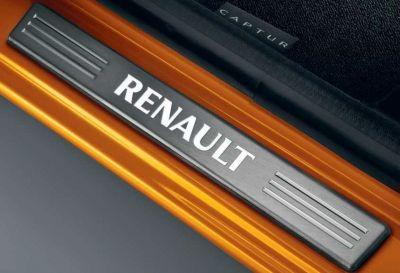 Renault Captur - Protectii praguri iluminate- fata (Renault Original)