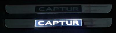 Renault Captur - Ornamente praguri iluminate cu LED