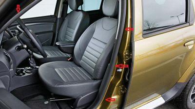 Duster (2010-2017) - Chedere interior portiere- fata stanga (Dacia Original)