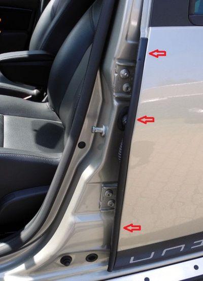 Duster (2010-2017) - Chedere portiere 2 buc (Dacia Original)