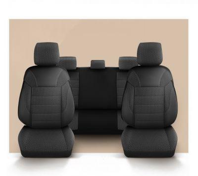 Duster II (2018-2021) - Set Huse scaune Elegant Classico - realizate special pentru Duster si compatibile cu cotiera laterala