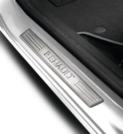 Renault Clio IV - Protectii praguri Premium- fata (Renault Original)