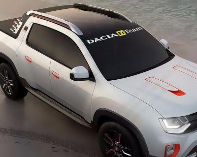 "Dacia - Autocolant ""F1 Team"""