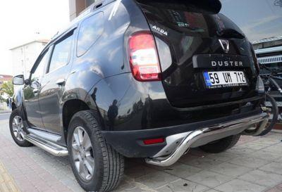 Duster (2010-2017) - Bara protectie spate cromata