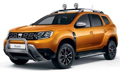 Duster II (2018-2020) - Bullbar cu Logo (Dacia Original)