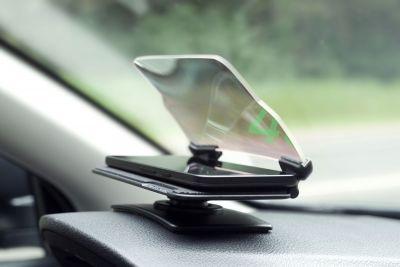 HUD glass - Afisaj deasupra bordului (Dacia Original)