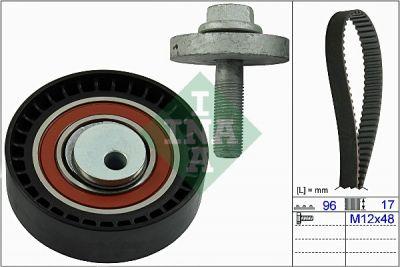 Kit distributie DACIA DOKKER / SANDERO (INA 530060410)