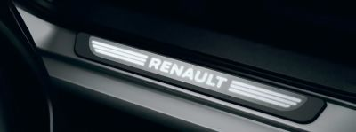 Renault Koleos II - Protectii praguri iluminate- fata si spate (Renault Original)