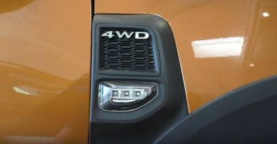 "Duster II (2018-2021) - Lumini semnalizare laterala LED ""Negru crom"""