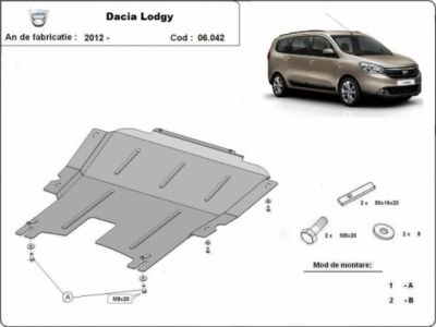 Lodgy - Scut metalic pentru motor