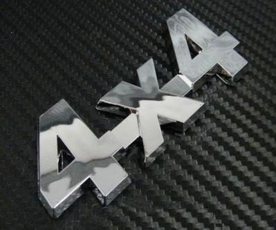 """Dacia - 3D Stickere """"4x4"""""""