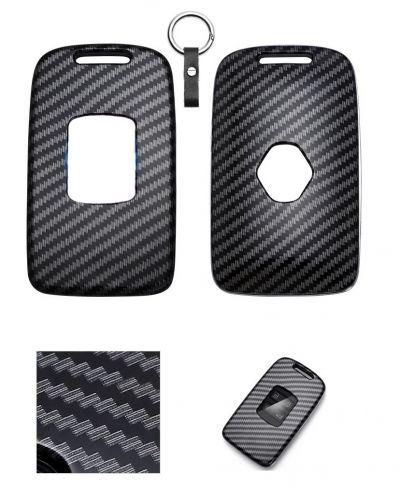 Renault Megane IV - Husa pentru chei cu aspect de fibra de carbon