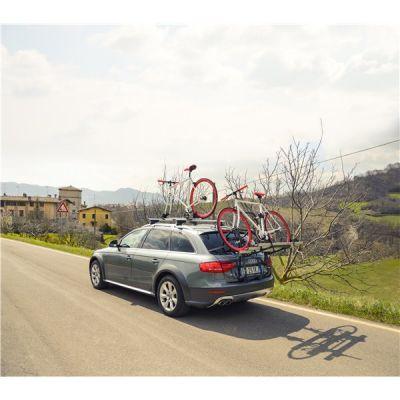 Suport biciclete Menabo Stand Up 2 pentru 2 biciclete cu prindere pe haion/portbagaj