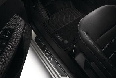 Dacia Logan III - Set covorase textile Confort (Dacia Original)