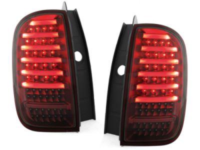 "Duster (2013-2017) - Lampi spate ""Full LED"" - rosu inchis"
