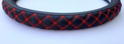 Dacia - Husa volan Red braid