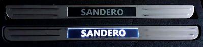 Sandero II / Sandero III - Ornamente praguri iluminate cu LED