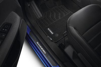Dacia Sandero III - Set covorase textile Confort (Dacia Original)