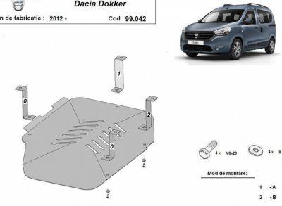 Dokker - Scut metalic pentru rezervor