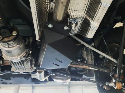 Duster II (2018-2021) Adblue - Scut metalic pentru EGR