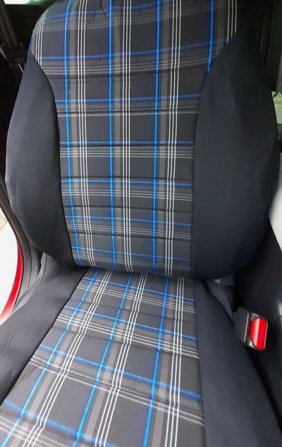 Duster II (2018-2021) - Huse de scaun GTI Style -albastru
