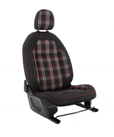 Duster II (2018-2021) - Huse de scaun GTI Style -rosu