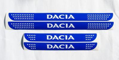 "Dacia - Set autocolante praguri ""Dacia"""