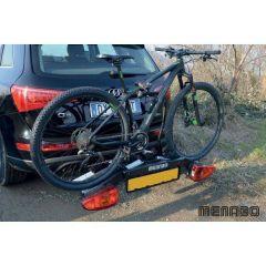 Suport biciclete Menabo Altair pentru 2 biciclete cu prindere pe carligul de remorcare