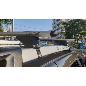 Dacia Duster I (2013-2018) - Bare de pavilion transversale Menabo Profile M