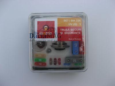 Duster - Kit becuri si sigurante H7 (Dacia Original)