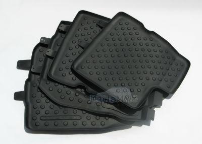 Duster (2014-2017) - Set covorase de cauciuc cu margini inalte (Dacia Original)