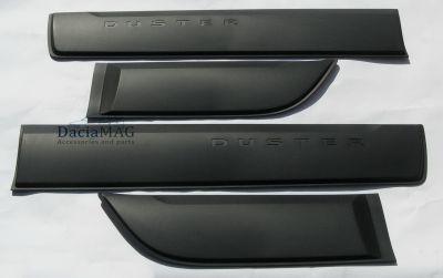 Duster II (2018-2020) - Set protectii laterale portiere (Dacia Original)