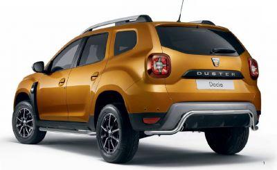 Duster II (2018-2020) - Bara protectie spate (Dacia Original)