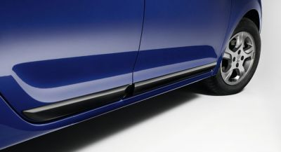 Sandero II (2012-2018) - Kit protectii laterale portiere (Dacia Original)
