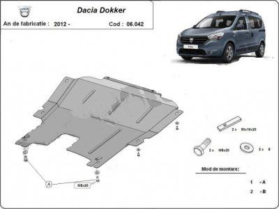Dokker - Scut metalic pentru motor