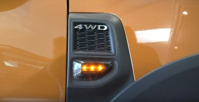 "Duster II (2018-2021) - Lumini semnalizare laterala LED ""Negru Fumuriu"""