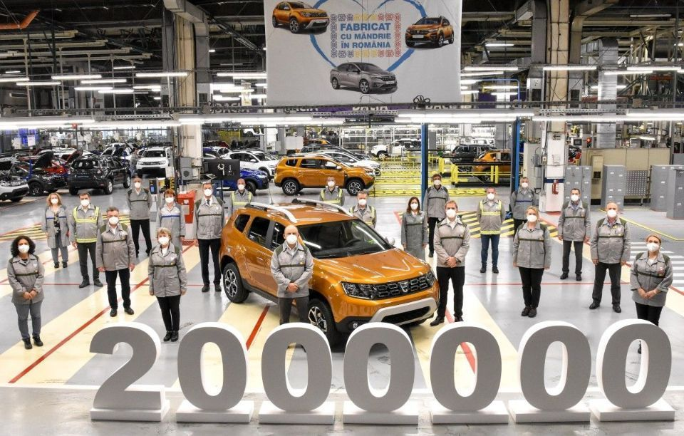 Duster no. 2,000,000 came off the production line on the 13th of May